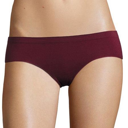 Flirtitude Seamless Hipster Panties, Xx-large , Red