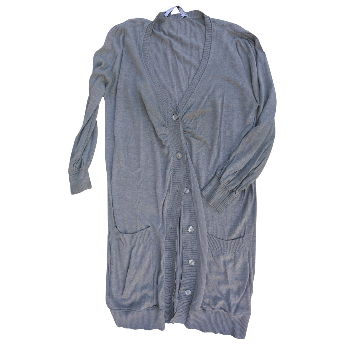 Sport Max - Pull   pour femme en coton - gris