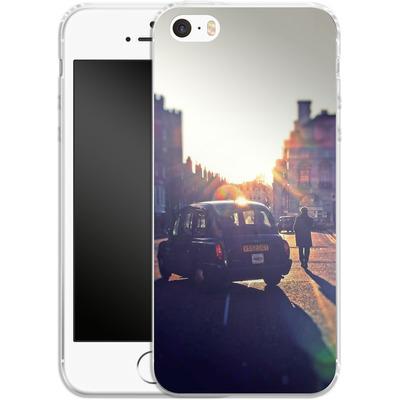 Apple iPhone 5 Silikon Handyhuelle - Those Simple Days von Ronya Galka