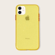 1 Stueck Transparente iPhone Huelle mit Glitzer