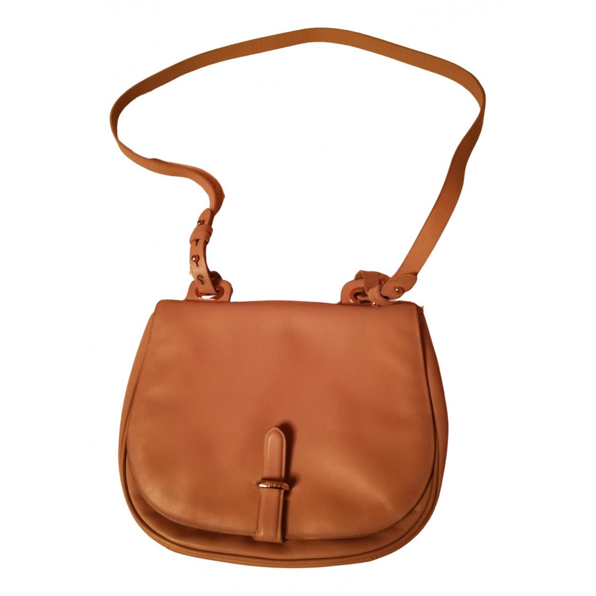 Uterque N Camel Leather handbag for Women N