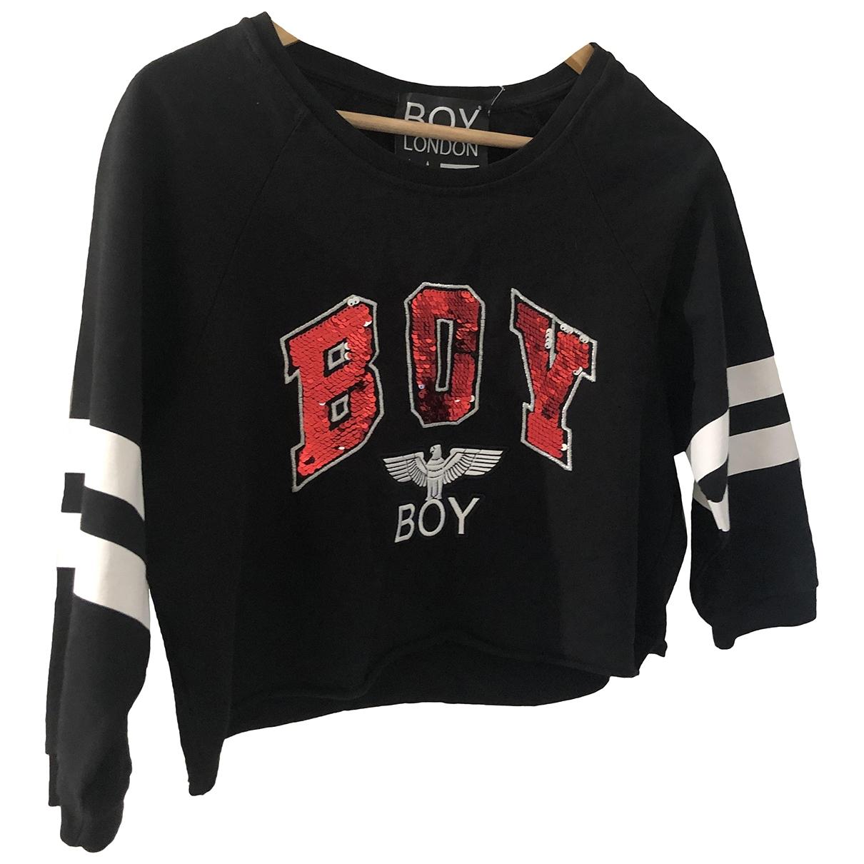 Boy London \N Black Cotton  top for Women 10 UK