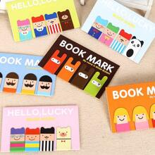 2packs Cartoon Design Random Bookmark
