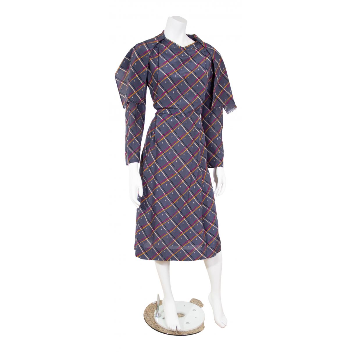 Vestido midi de Lana Jean Patou