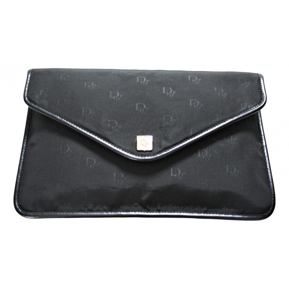 Dior \N Black Cloth Clutch bag for Women \N
