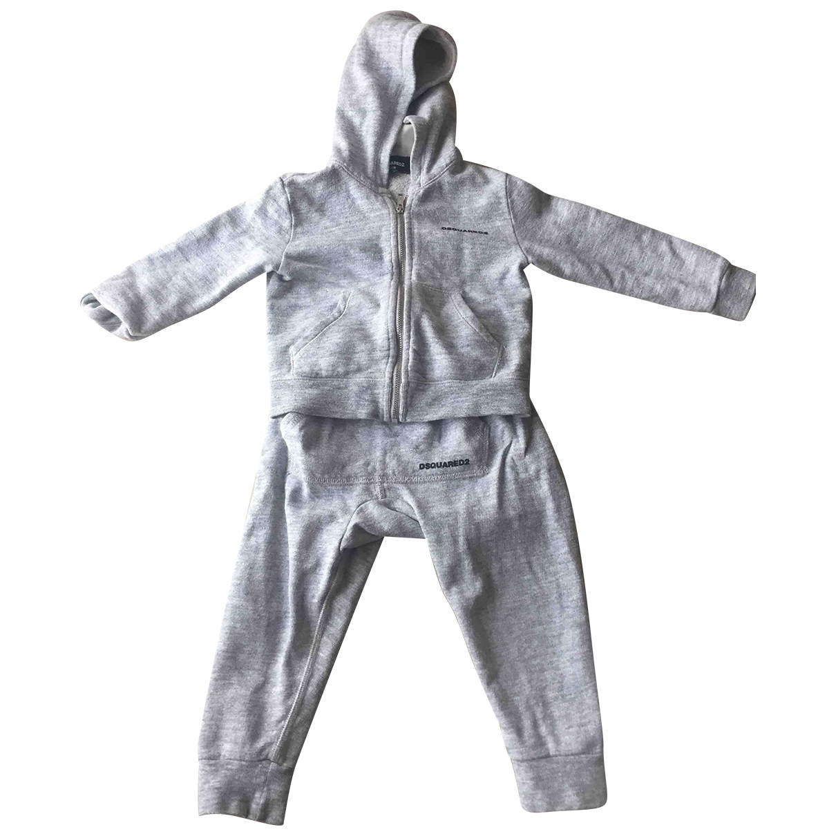 Dsquared2 \N Grey Cotton Outfits for Kids 2 years - up to 86cm FR