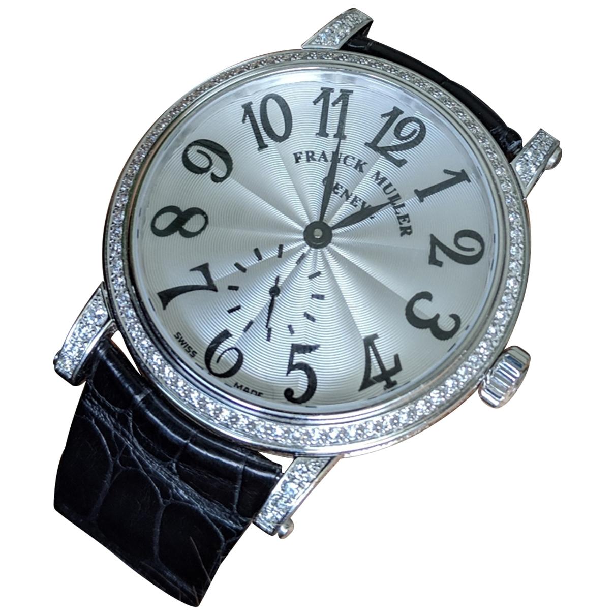 Relojes de Oro blanco Franck Muller