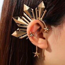 1 Stueck Strukturierte Ohrringe