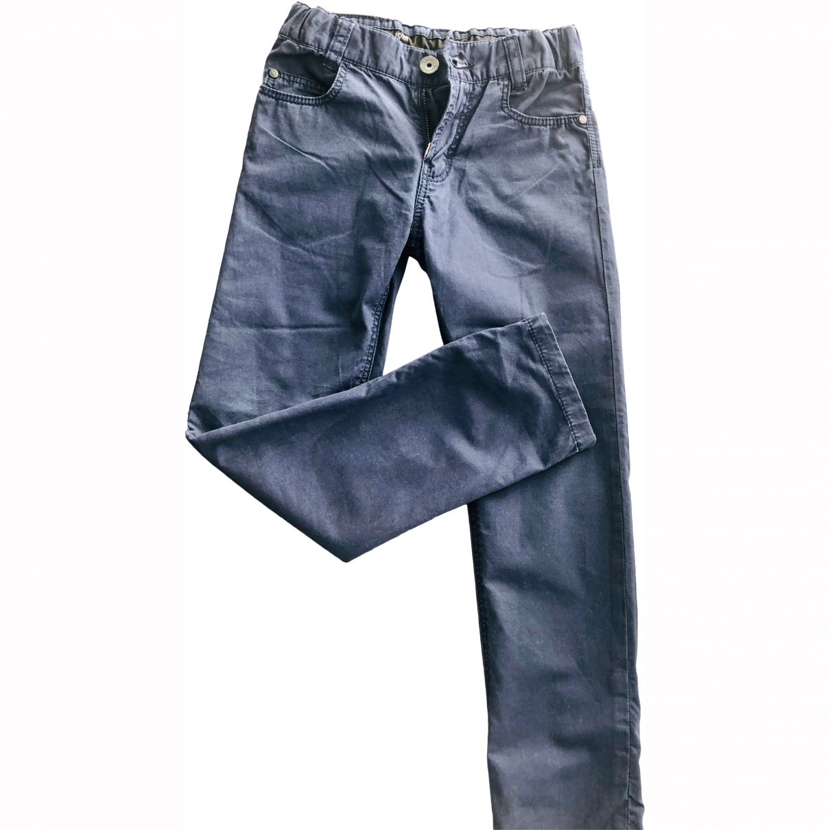 Boss \N Blue Cotton Trousers for Kids 6 years - up to 114cm FR
