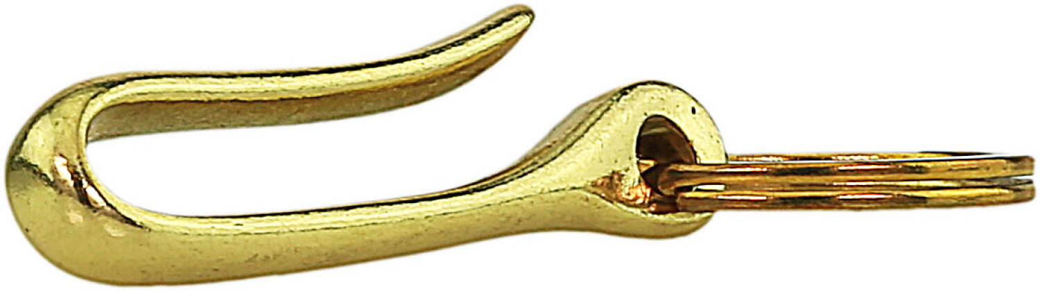 Key Chain--Everhook Hook and Key Ring - Gold