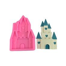 1pc Castle Shaped Mold