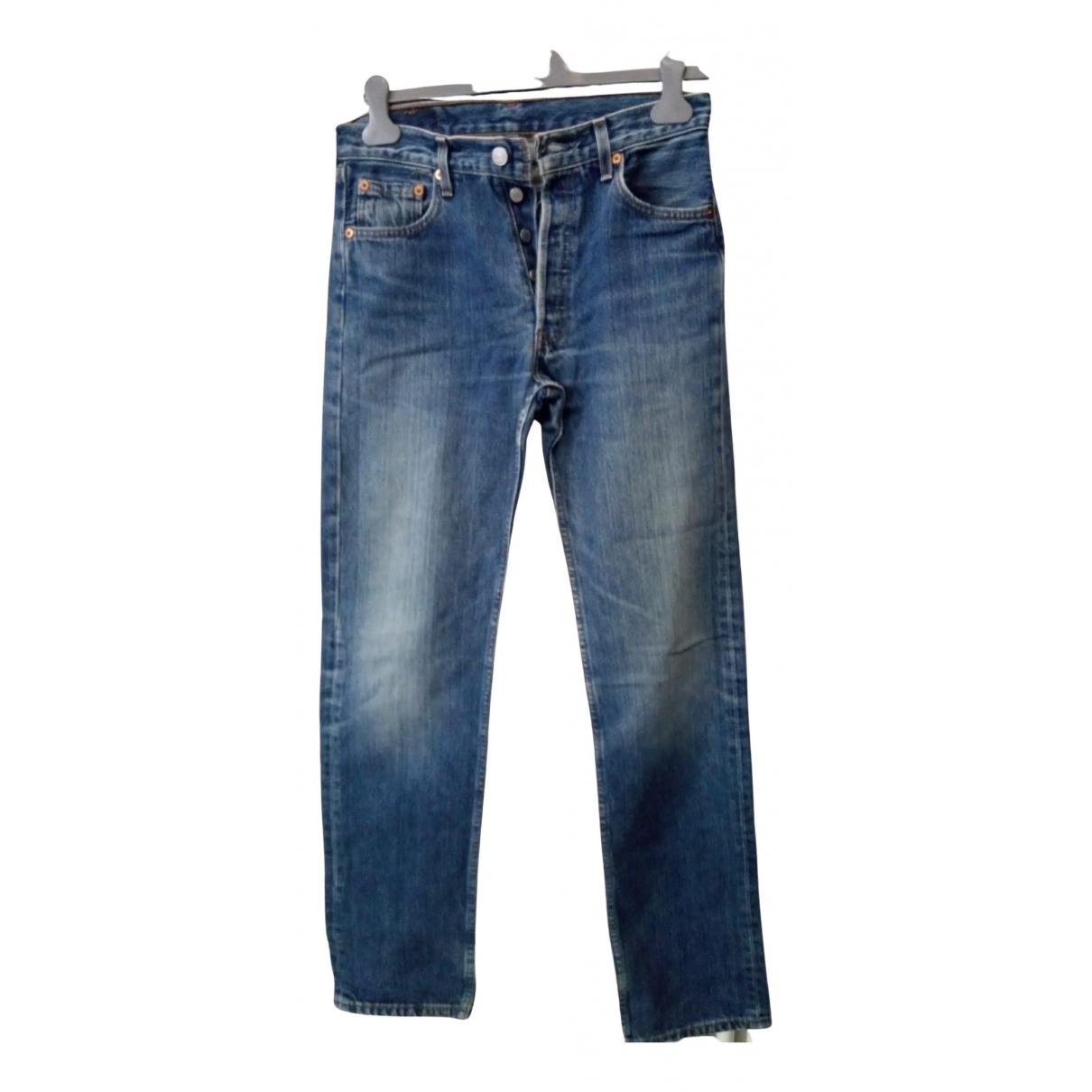 Pantalones en Denim - Vaquero Azul Levis