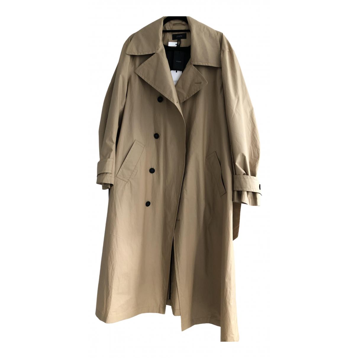 Joseph \N Beige Cotton coat for Women XS International