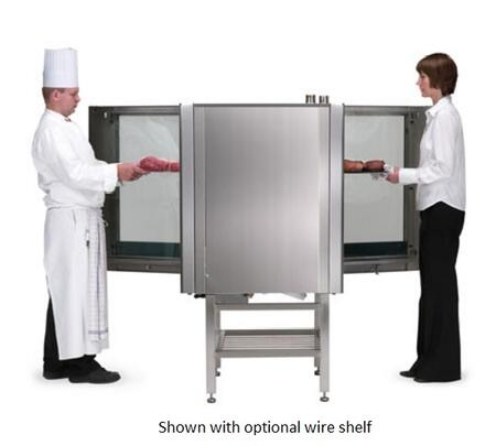 BCT61EPT Single Pass-Through Electric Boiler based Combination-Oven and Steamer with Doors on Front and Back  Touchscreen Control  Multiple modes