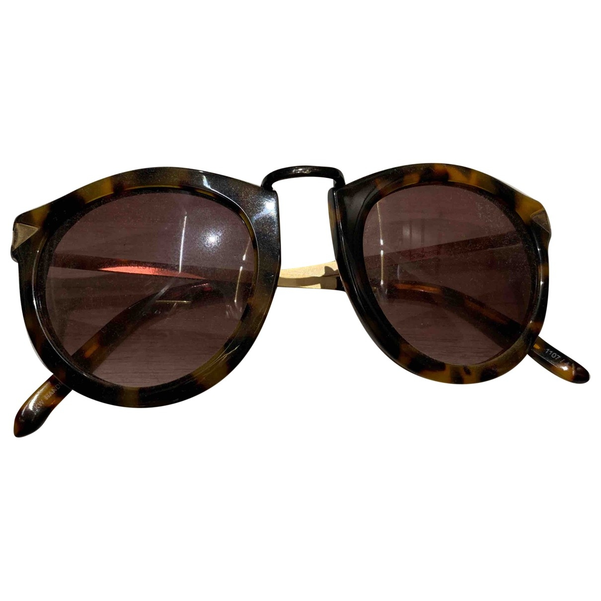 Karen Walker \N Brown Sunglasses for Women \N