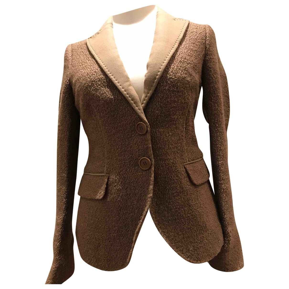 Etro \N Camel Wool jacket for Women 42 IT