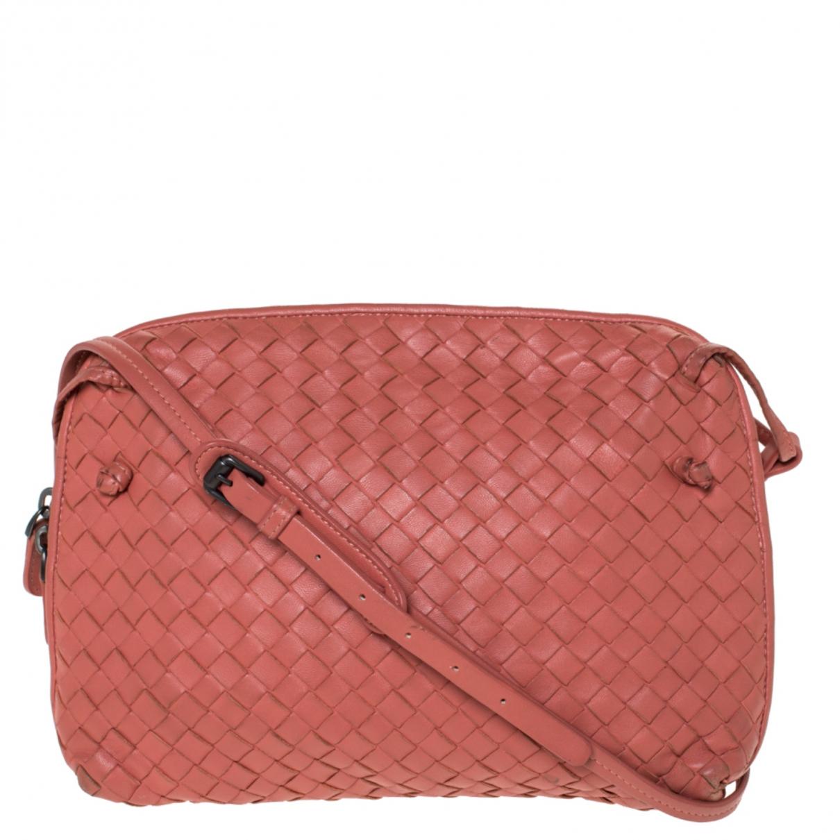 Bottega Veneta - Sac a main Nodini pour femme en cuir - rouge