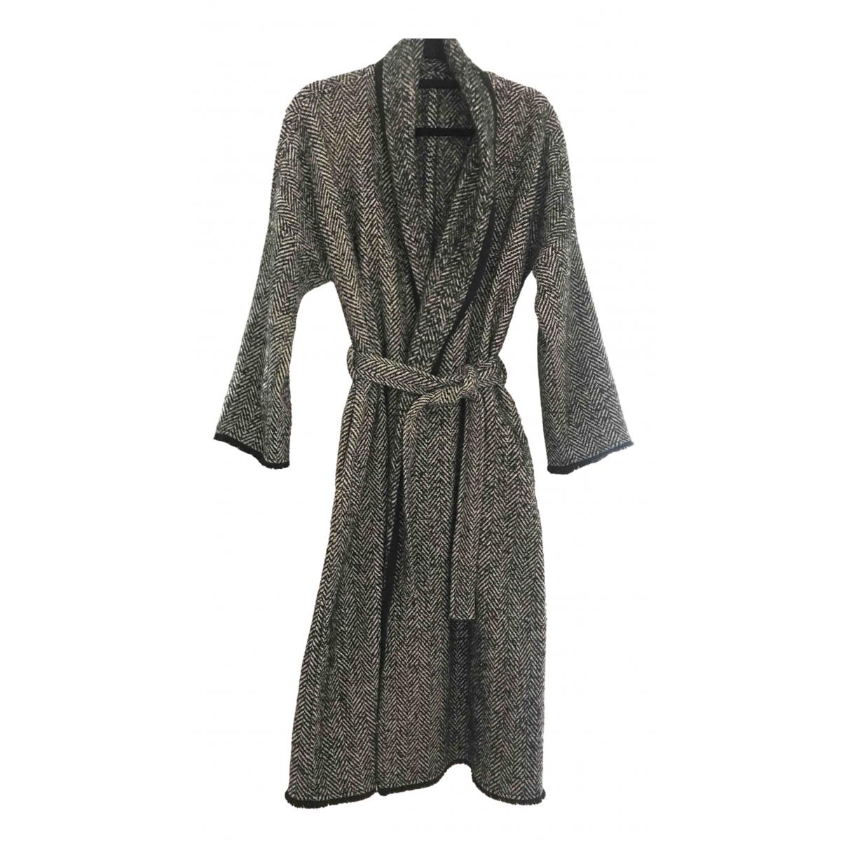 - Manteau Oversize pour femme en tweed - multicolore