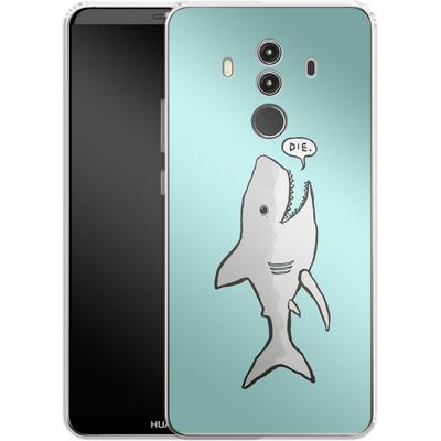 Huawei Mate 10 Pro Silikon Handyhuelle - Die von caseable Designs