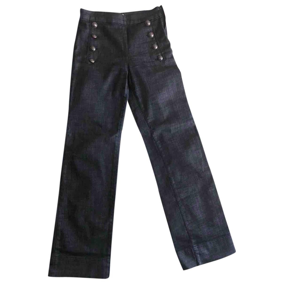 Gigi Hadid X Tommy Hilfiger \N Blue Denim - Jeans Jeans for Women 38 FR