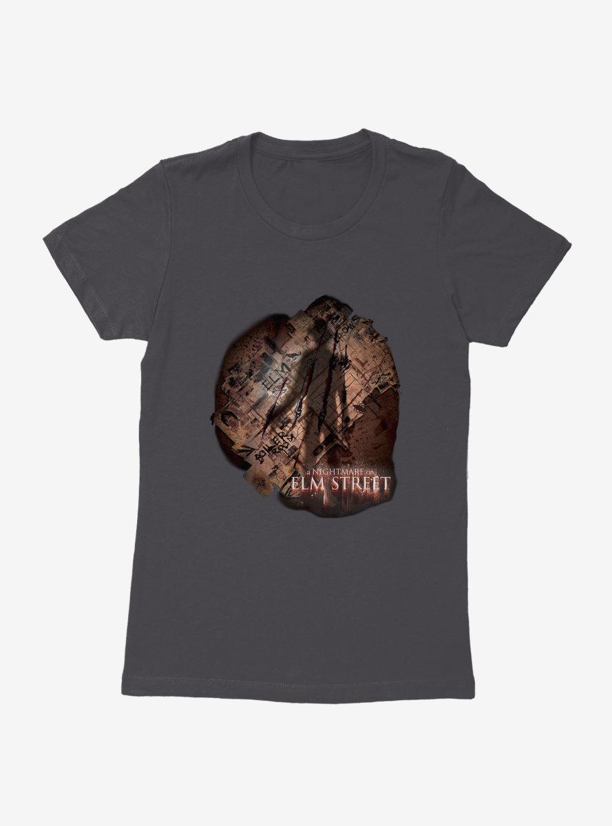 A Nightmare On Elm Street Freddy Shadow Womens T-Shirt
