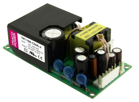 TRACOPOWER , 150W Embedded Switch Mode Power Supply SMPS, 36V dc, Open Frame