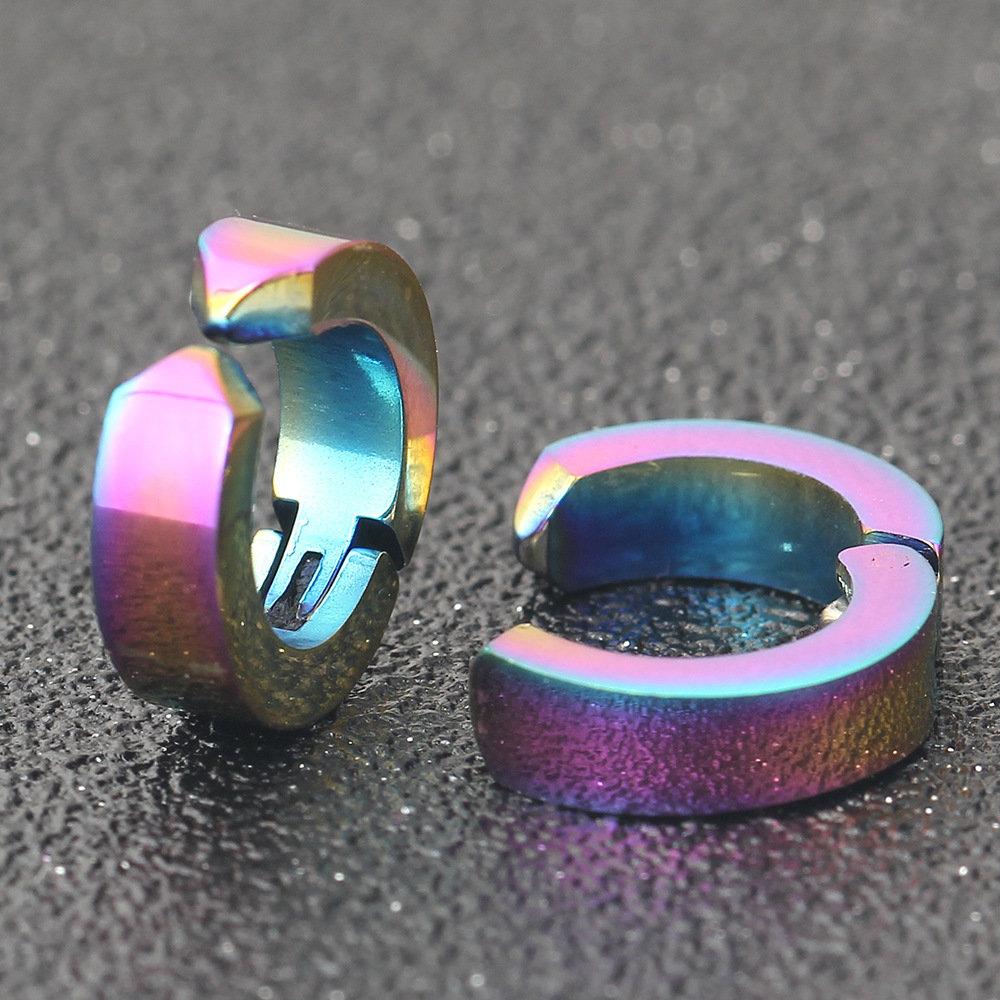 Trendy Cartilage Earrings Simple Style Punk No Piercing Ear Clip Earrings for Women Men