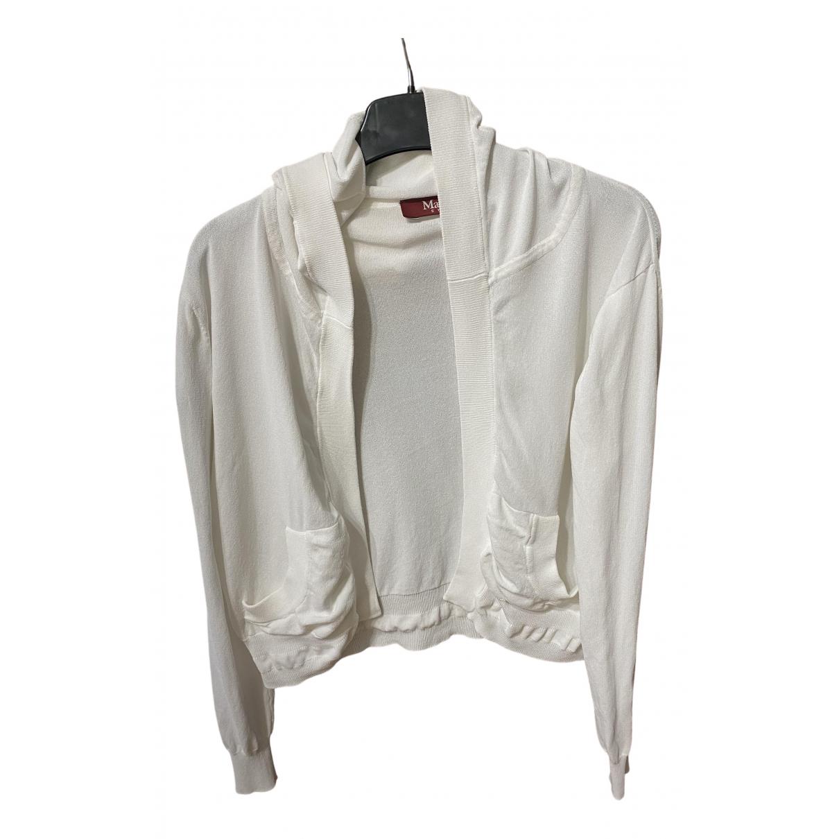Max Mara Studio N White Knitwear for Women M International