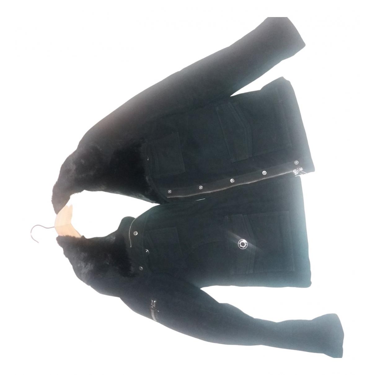 Zadig & Voltaire - Blouson   pour femme en coton - noir