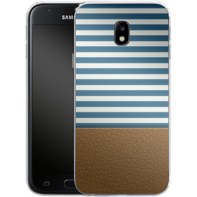 Samsung Galaxy J3 (2017) Silikon Handyhuelle - Nautical von caseable Designs