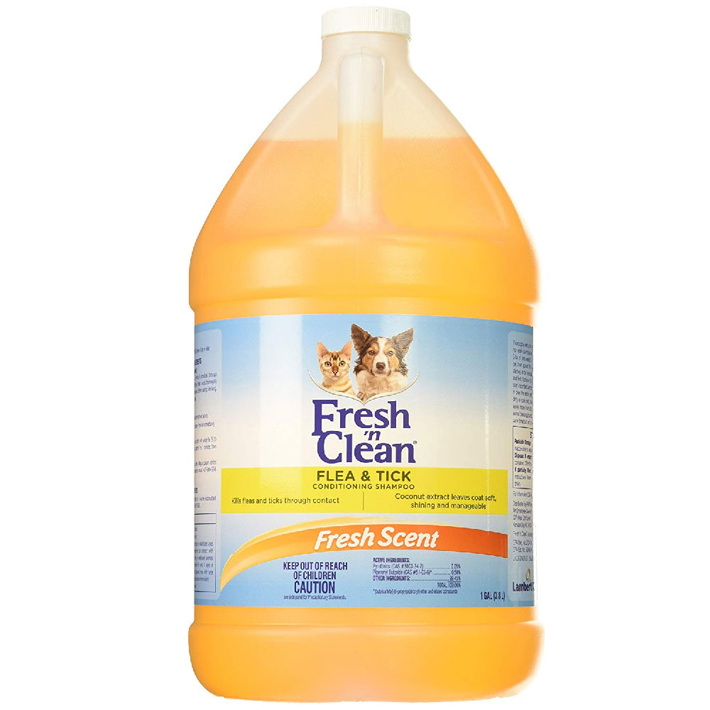 Fresh n Clean Flea & Tick Conditioning Shampoo (1 Gallon)