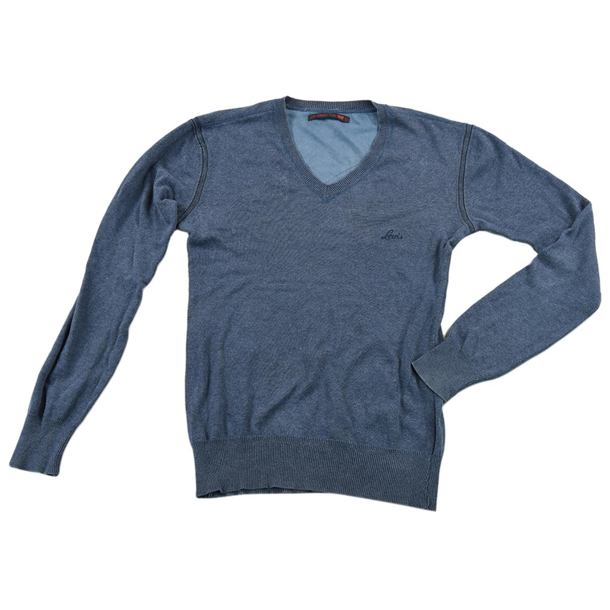 Levis \N Pullover.Westen.Sweatshirts  in  Blau Wolle