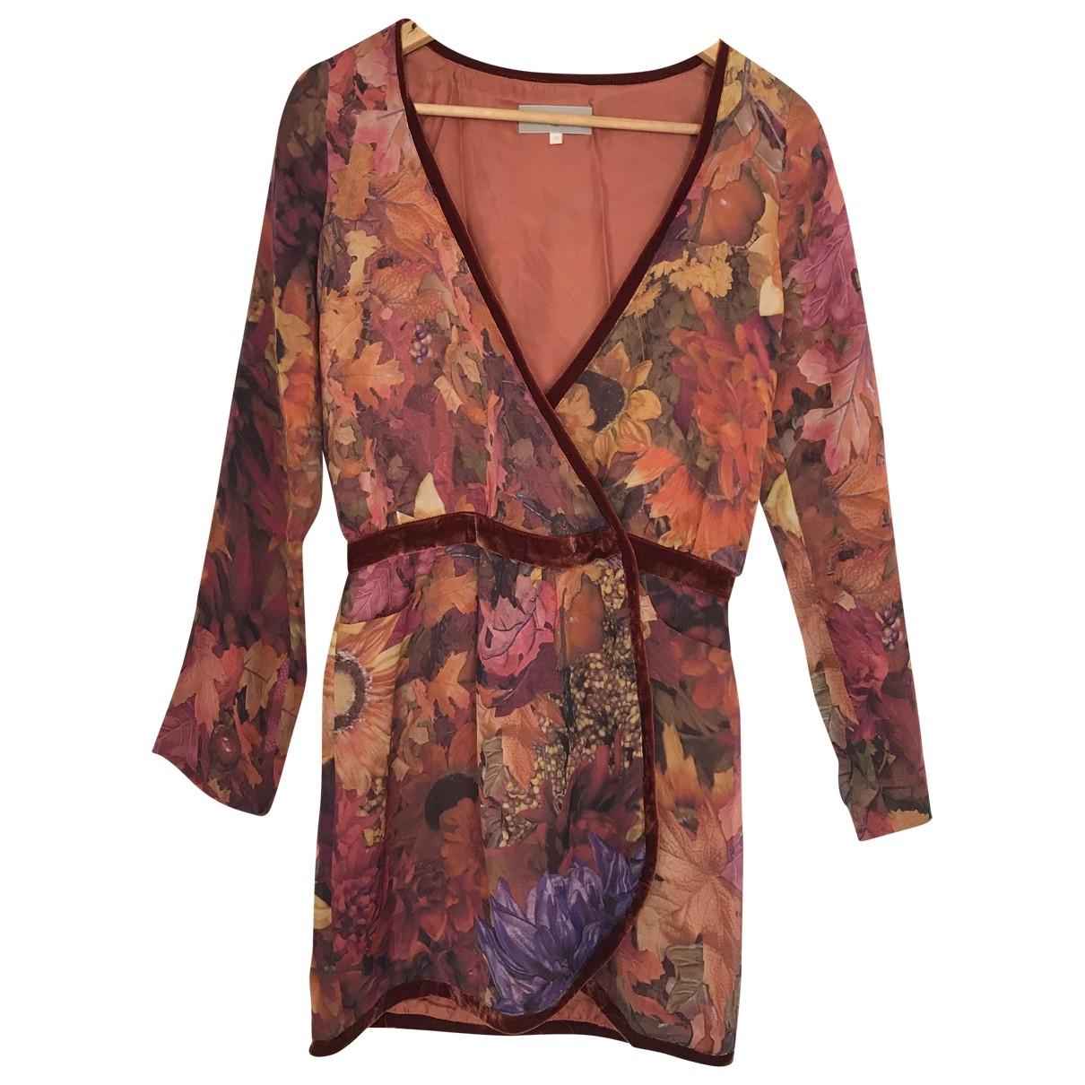 Heimstone \N Kleid in  Orange Viskose