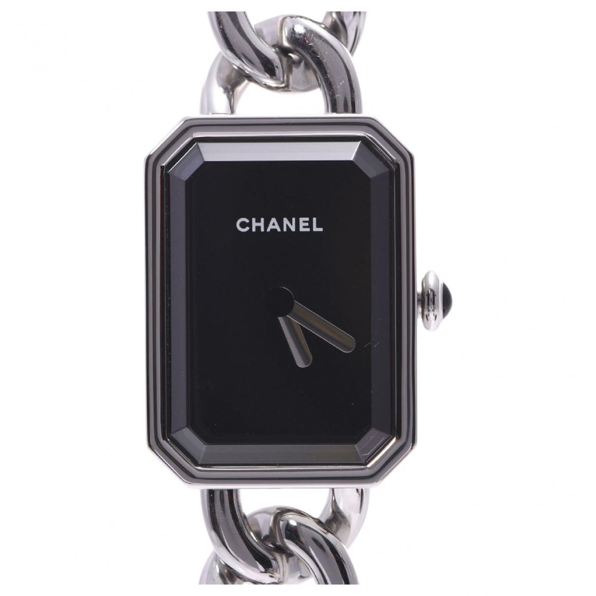 Chanel - Montre Premiere pour femme en acier - argente