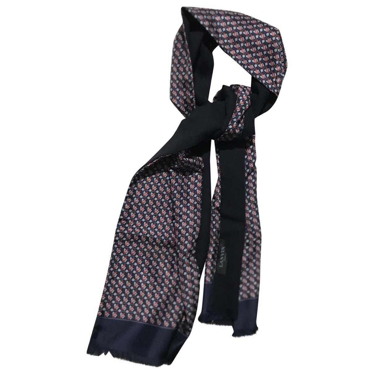 Pañuelo / bufanda de Seda Lanvin