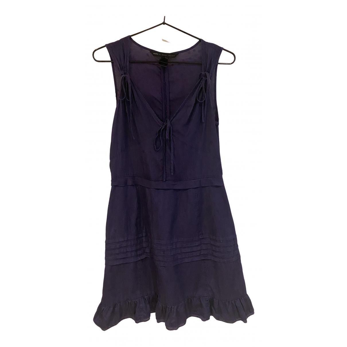 Marc By Marc Jacobs \N Kleid in  Lila Baumwolle