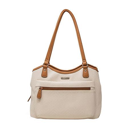 Multi Sac Oakland Crisscross Shoulder Bag, One Size , White