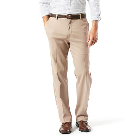 Dockers Big & Tall Classic Fit Easy Khaki Pants D3, 44 32, Brown
