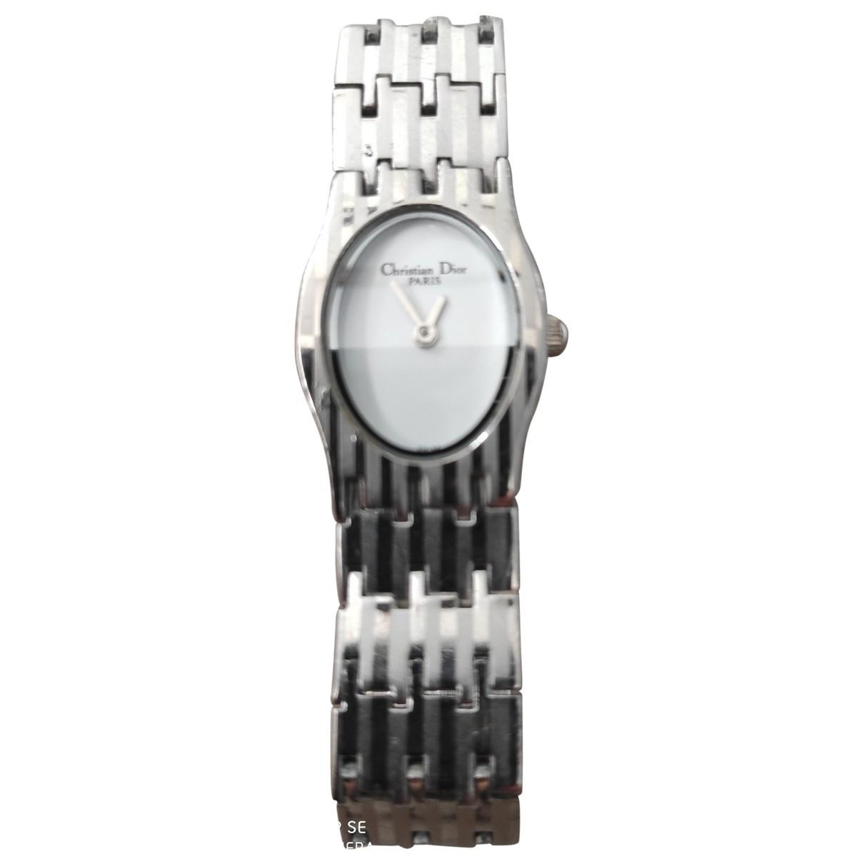 Dior - Montre   pour femme en acier - argente