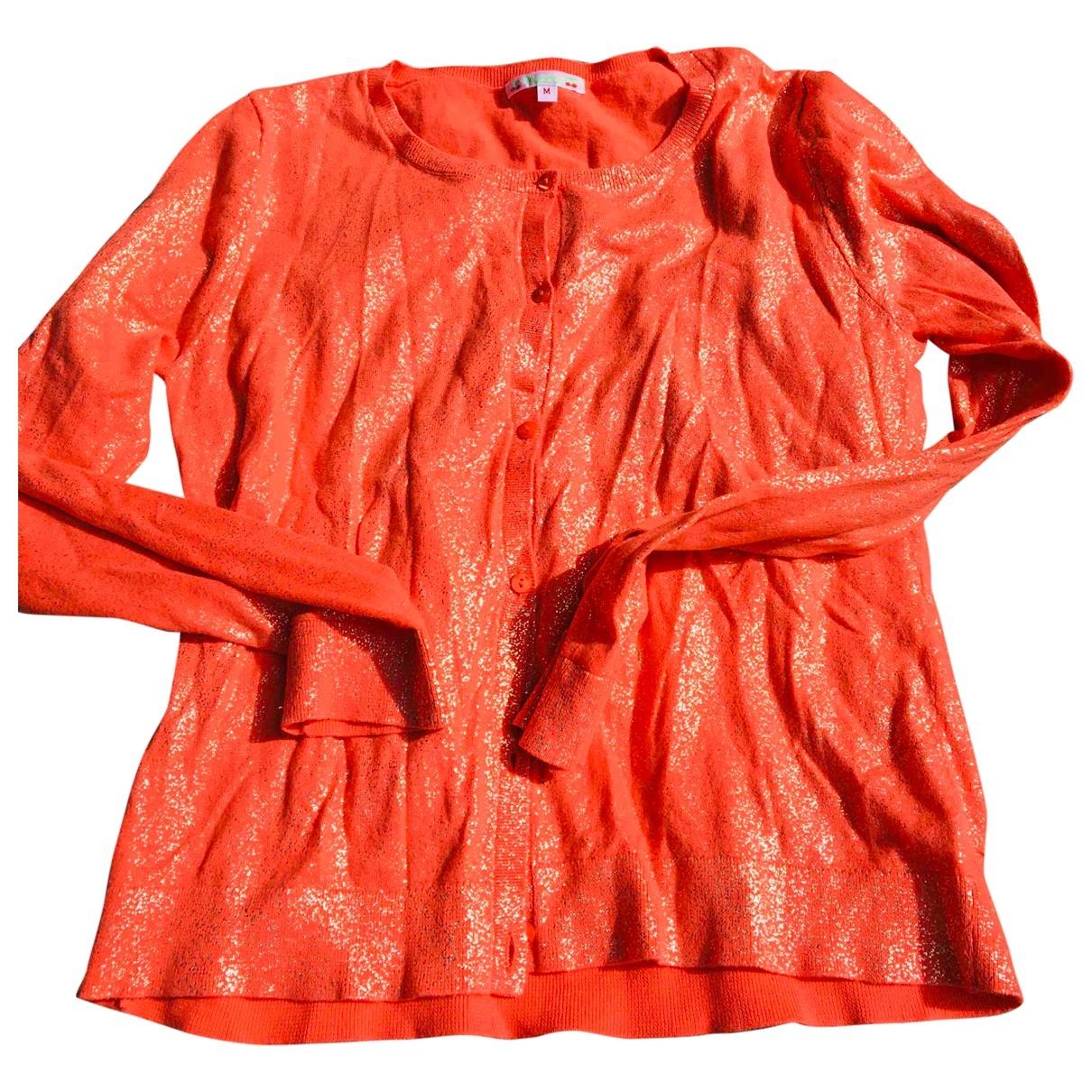 Bonpoint \N Pullover in  Orange Baumwolle