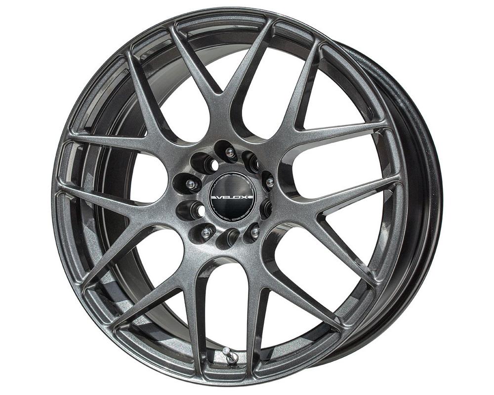Velox Apex Black Metallic Wheel 17x7.5 4x100/114.3 40