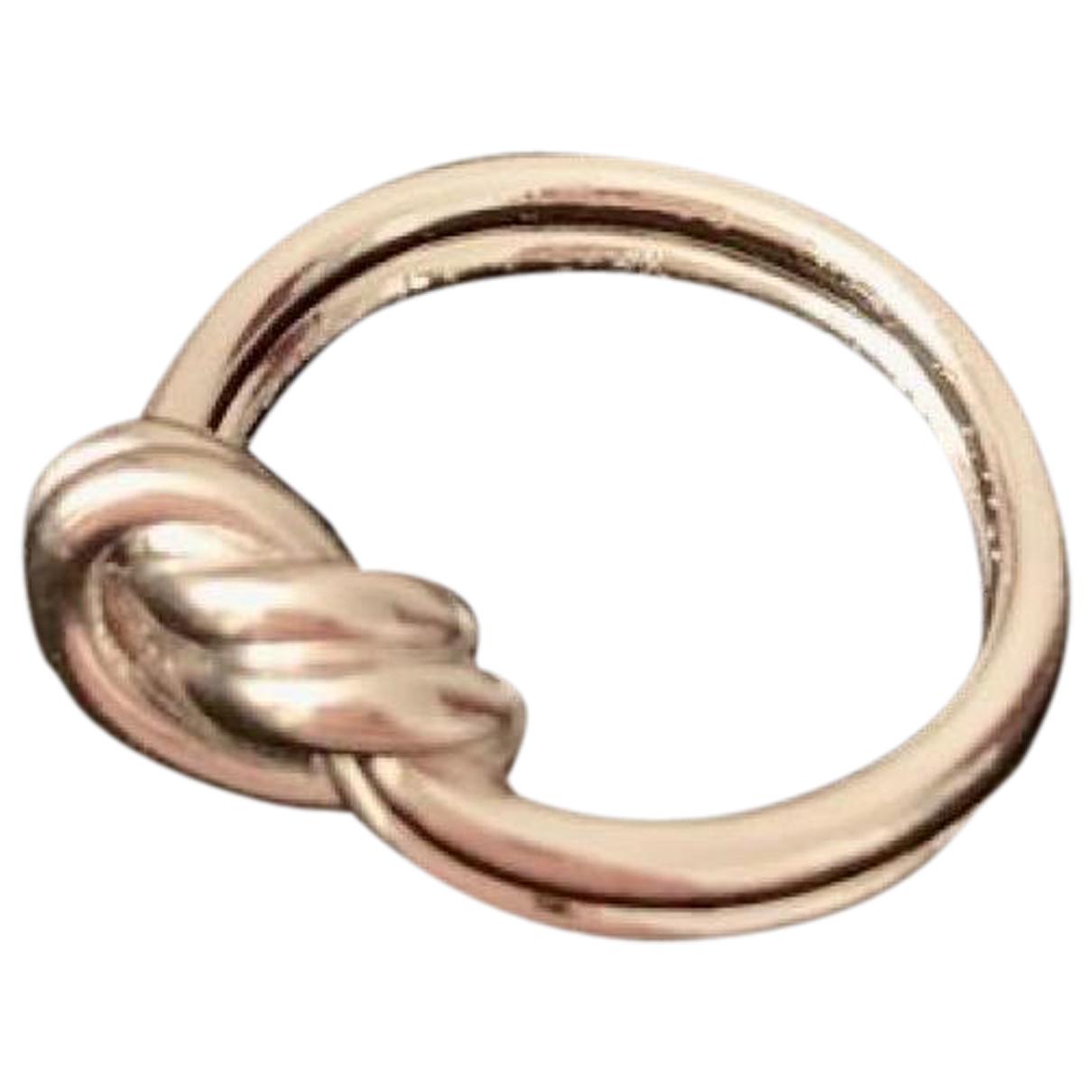 Celine - Bague Knot pour femme en metal - argente