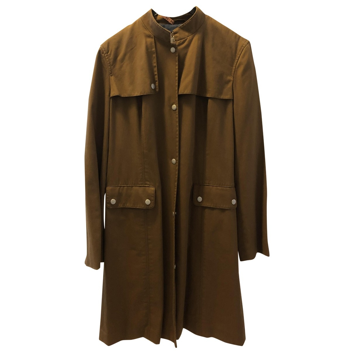 Armani Exchange \N Trench in  Braun Baumwolle