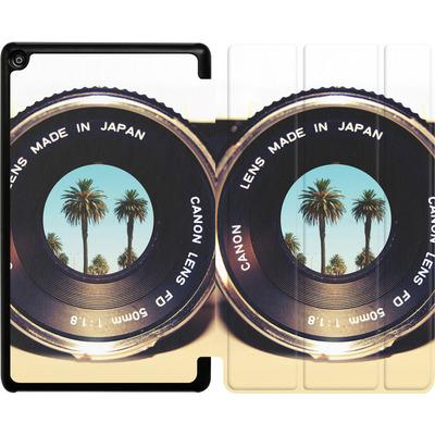 Amazon Fire HD 8 (2018) Tablet Smart Case - Focus On Palms von Bianca Green