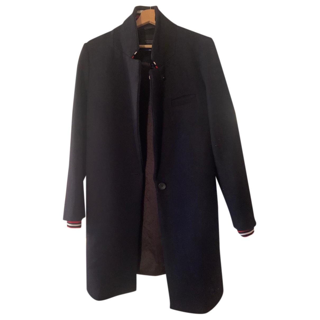 Maison Scotch N Blue Wool coat for Women M International