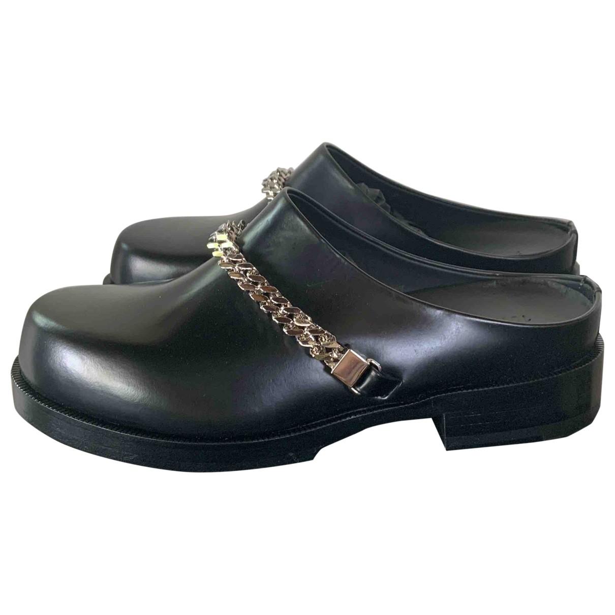 Alyx \N Clogs in  Schwarz Leder