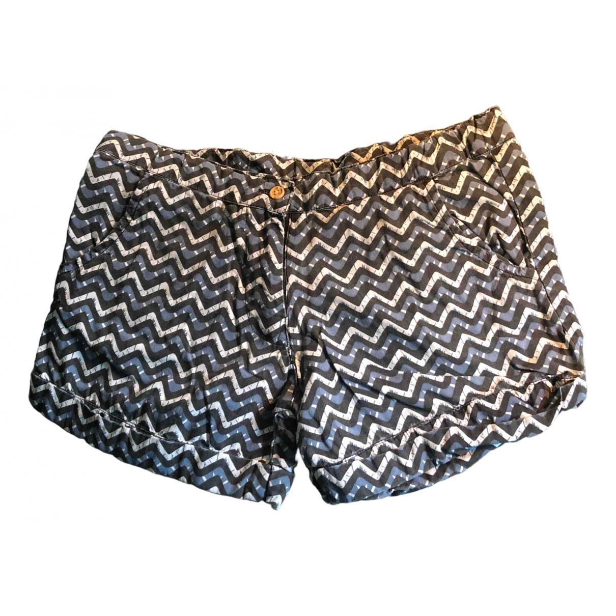 Zef \N Shorts in  Blau Baumwolle