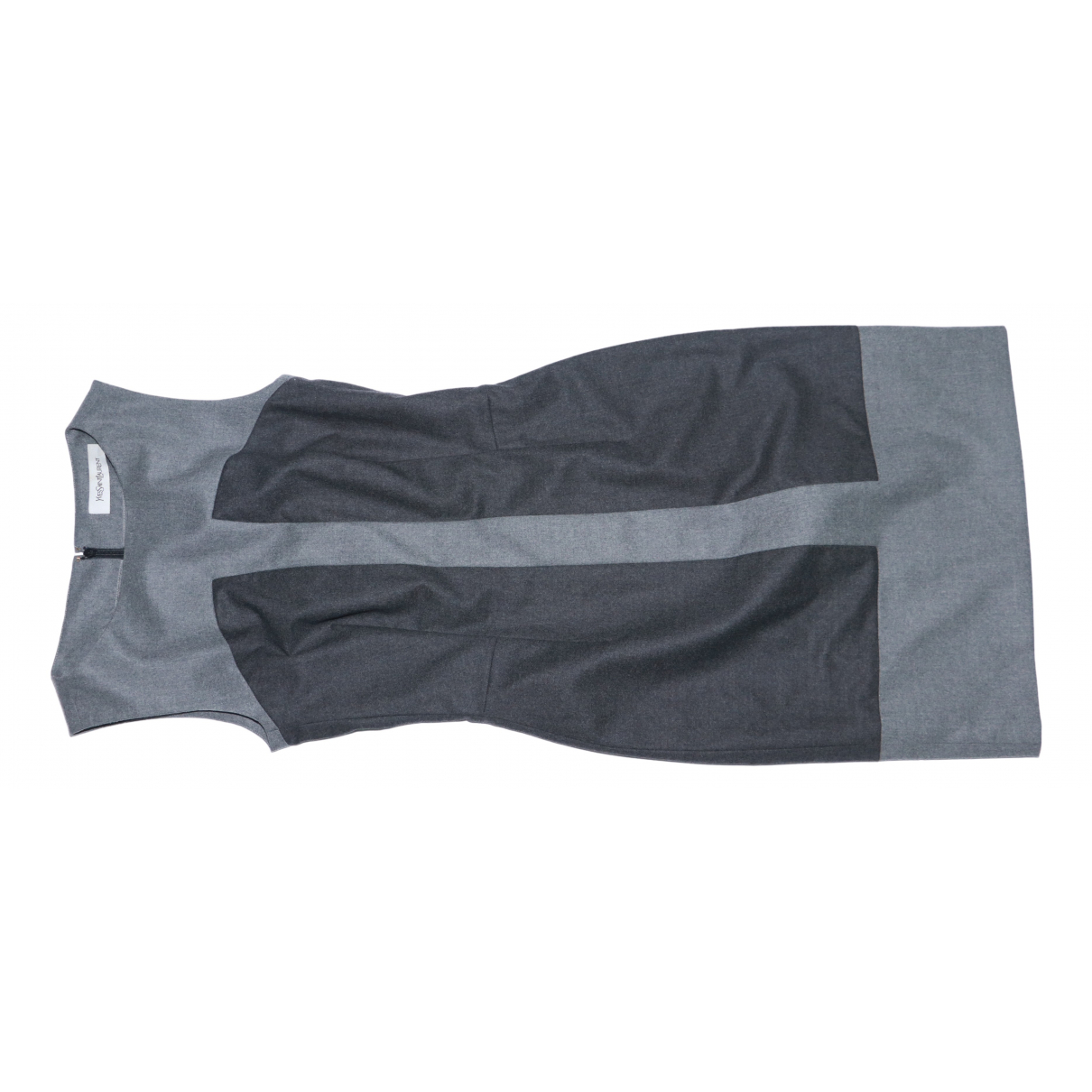Yves Saint Laurent N Grey Wool dress for Women 34 FR