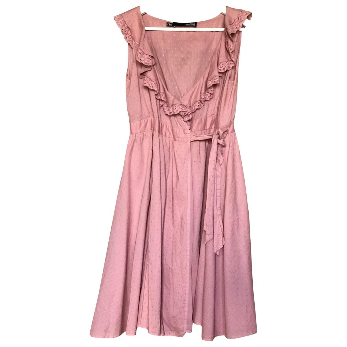 Moschino Love - Robe   pour femme en coton