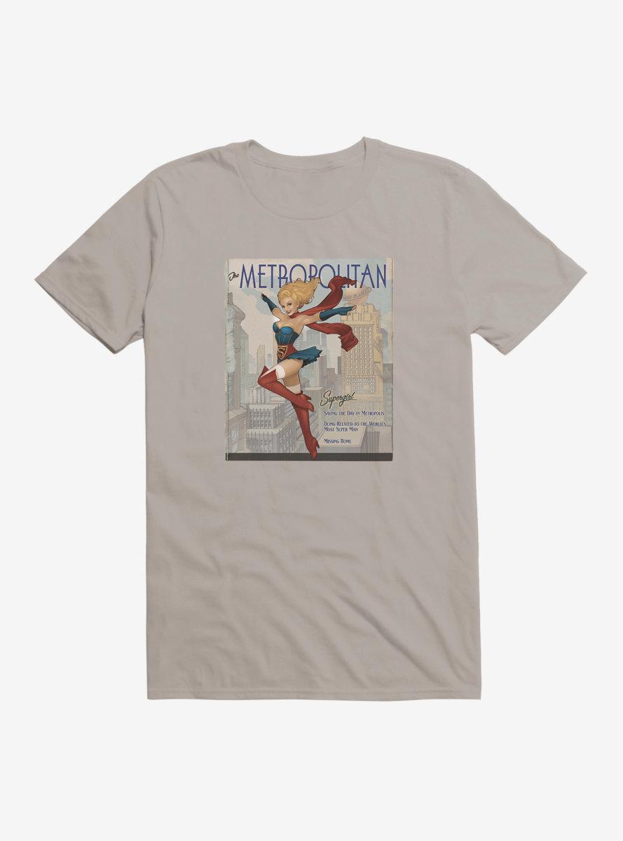 DC Comics Bombshells Supergirl Metropolitian T-Shirt